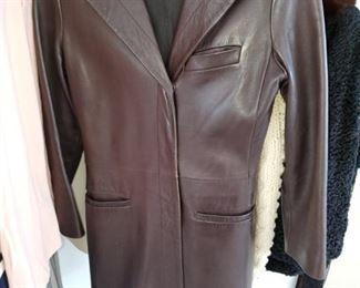 Narciso Rodriquez leather jacket