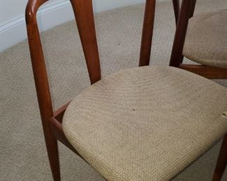Mid Century Danish modern Table with 5 Chairs