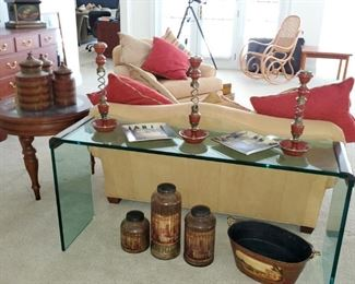 Contemporary Glass table, Home Decor