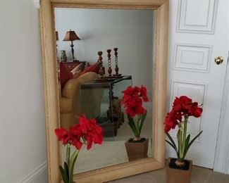 Large Mirror, Large Faux Amarillo's