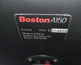 Boston A150 Speakers