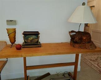 Michigan Maple Block, Wood Welded Table