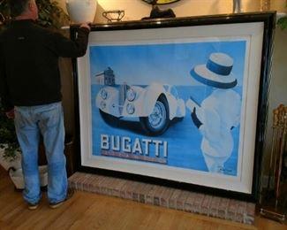 HUGE Bugatti print