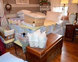 vintage cast iron bed