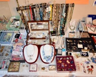 Huge selection of costume jewelry!