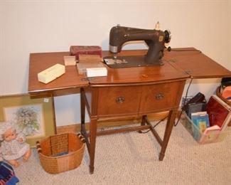 Montgomery Ward's sewing machine