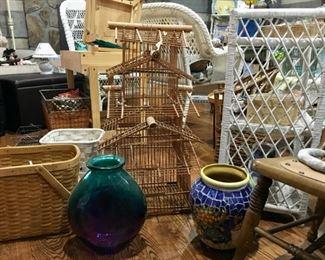 vintage Indonesian birdcage