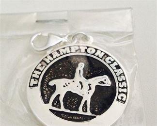 1. Hampton Classic Sterling Silver 925 key chain