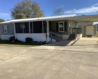 52' x 28' Double Wide Manufactured Home