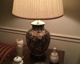 Nice green lamp,