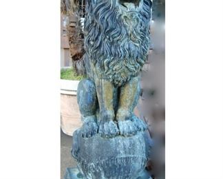 Pair of 7' Lions