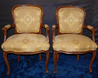 Set of 10 Chairs by J. Widdicomb.