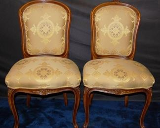 Set of 10 Chairs by J. Widdicomb. 2 Arms & 8 Sides
