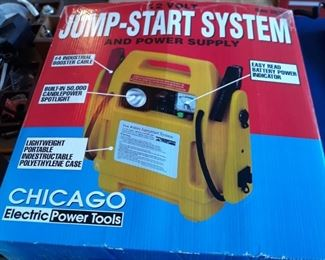 12 volt power supply , jump starter