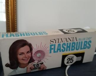 Vintage flash bulbs