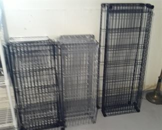Wire shelf supplies