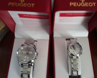 Peugeot wrist watches
