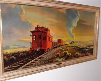 Larger  railroad art