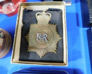 British coronation  police badge
