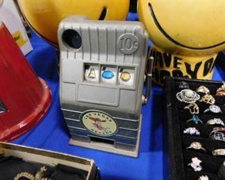 Vintage slot Machine bank