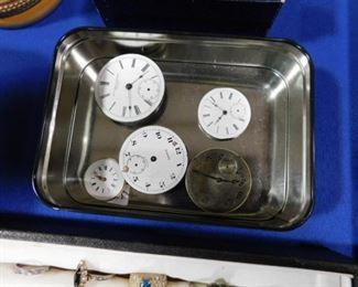 Pocket watch movements