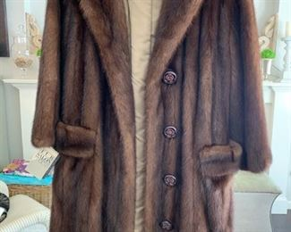 Ladies size 4-6 Sable Mink Coat  - plus a large amount of women's clothing, coats, and shoes