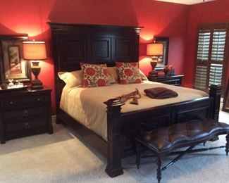 The master room.  Wow. This is the bed to have.
