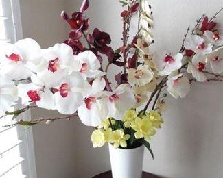 Large Silk Floral Display