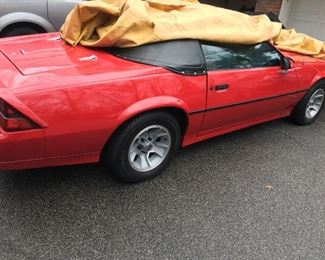 1984 Chevrolet Camaro 39,000 miles mint condition