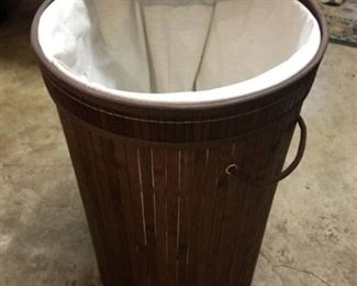 Circle Laundry Basket with lid and Handles