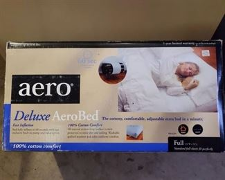 Aero Deluxe AeroBed Full Size in Box (Preowned)