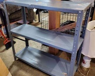 3 Tier Metal Work Shelf