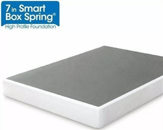 Zinus 5 Inch Low Profile Smart Box Spring / Mattress Foundation / Strong Steel