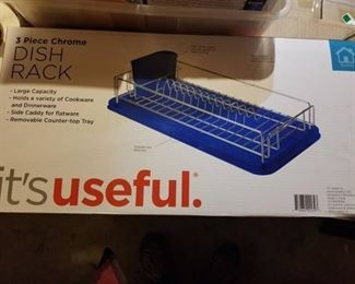 It's Useful Dish Drying Rack