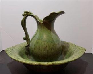Green Haeger Basin Dish