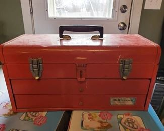 S.K Tools Red Tool Box