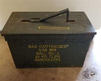 840 Cartidge Ammo case