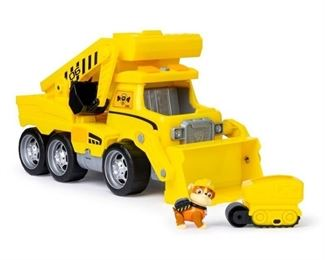 PAW Patrol, Ultimate Rescue Construction Truck with Lights, Sound and Mini Vehicle, for Ages 3 and Up