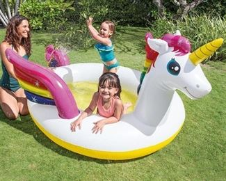 Intex Mystic Unicorn Spray Pool
