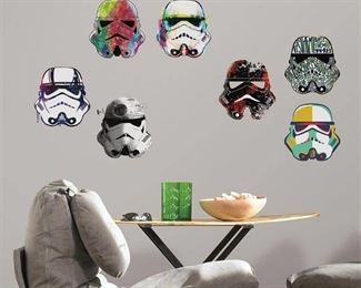 Star Wars Peel & Stick Wall Decals, Men's