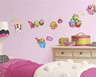 Shopkins Wall Decal, Adult Unisex