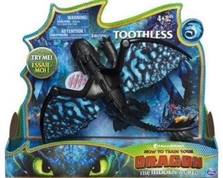 DreamWorks Dragons Toothless Deluxe Dragon with Lights and Sounds