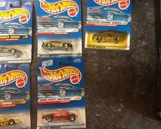 Lot of 5 Hot Wheels