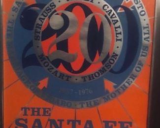 Santa Fe Opera Poster