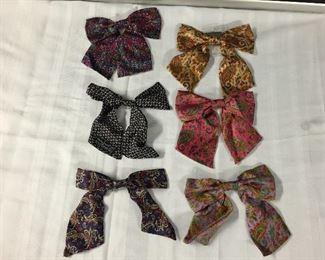 Vintage Silk Ladies Bow Ties