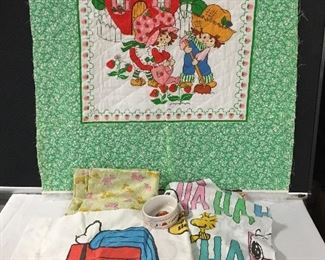 Vintage Snoopy Sheets & More