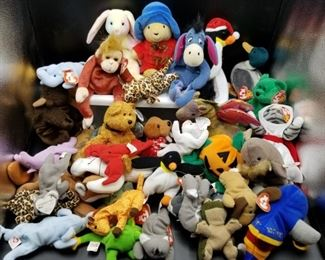 TY Beanie Babies and other Plush Toys https://ctbids.com/#!/description/share/331162