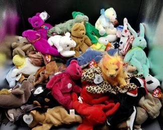 Lions and Tigers and Bears Oh My Beanie Babies https://ctbids.com/#!/description/share/331163