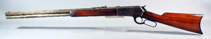 Winchester Model 1886 .40-82 WCF Lever Action Rifle SN# 70494, Octagonal Barrel