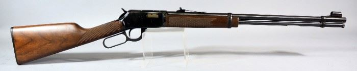Winchester Model 9422M .22 Win Mag Lever Action Rifle SN# F739436, Walnut Stock, With Paperwork, In Original Box